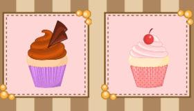 Serveuse de Cupcakes