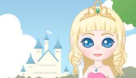 Un maquillage de princesse