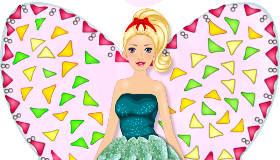 La gâteau fée Barbie