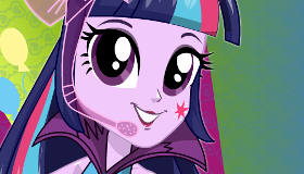 Twilight Sparkle dans Rainbow Rocks