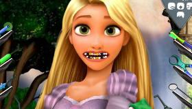 Raiponce chez le dentiste