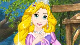 Habillage de la princesse Raiponce