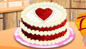 Le gâteau de la St Valentin
