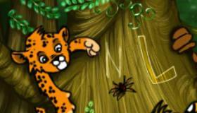 Cache-cache dans la jungle