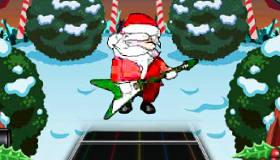 Jeu de Père Noël musicien