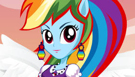 Rainbow Dash d'Equestria Girl