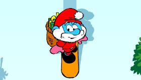 Jeu de Noël avec les Schtroumpfs