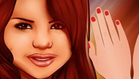 Manucure pour Selena Gomez