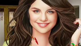 Selena Gomez chez le docteur