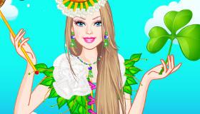 Barbie et la St Patrick