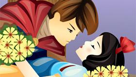 Le jeu du baiser de Blanche Neige