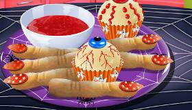 Muffins en doigts de sorcière