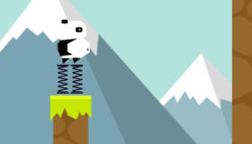 Panda Trampoline