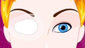Cendrillon opération de l'oeil