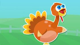 Thanksgiving Dinde Volante