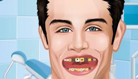 Tomas de Violetta chez le dentiste