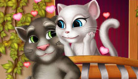 Bisous de Talking Tom