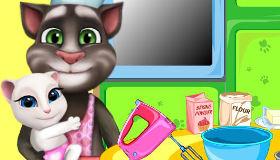 jeu tom en cuisine gratuit jeux 2 filles. Black Bedroom Furniture Sets. Home Design Ideas
