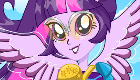 Equestria Girl Twillight Sparkle