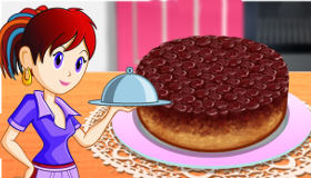 jeu la tarte tatin de sara gratuit jeux 2 filles html5. Black Bedroom Furniture Sets. Home Design Ideas