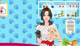 Habille une vétérinaire