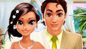 Jeu de designer de robe de mariée