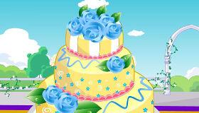 Décoration de gâteaux de mariage