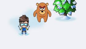 Course de ski