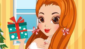 Manucure pour Fille de Noël