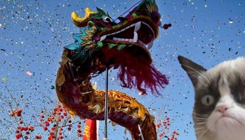 La légende des douze animaux du zodiaque chinois et du chat qui fait du boudin.